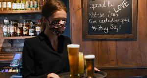 All pubs were due to reopen on Monday. Photograph: Andy Rain /EPA