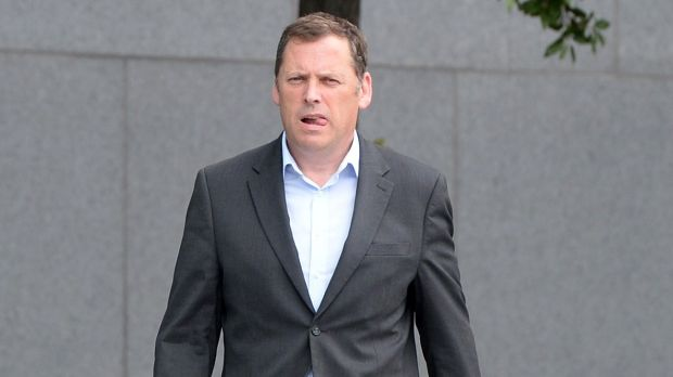 Former minister for agriculture Barry Cowen arrives for the Dáil sitting at the Convention Centre in Dublin on Wednesday. Photograph: Dara Mac Dónaill