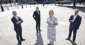 Michael Costello, manging partner, BDO; Donal Duffy, senior director, Bank of Ireland - corporate banking; Sinead Heaney and Andrew Bourg, founding partners and directors of Development Capital