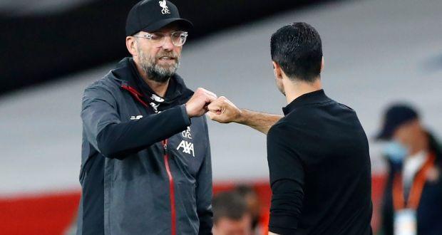 Mikel Arteta calls gap between Arsenal and Liverpool 'enormous'