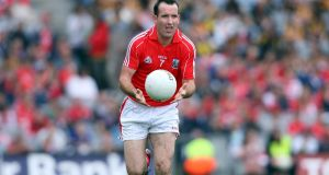 Kieran O'Connor in action for Cork during the 2008 All-Ireland quarter-finals. Photograph: Donall Farmer/Inpho