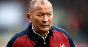 Eddie Jones has admitted he cannot predict the impact of the coronavirus pandemic on his England set-up. File photograph: PA