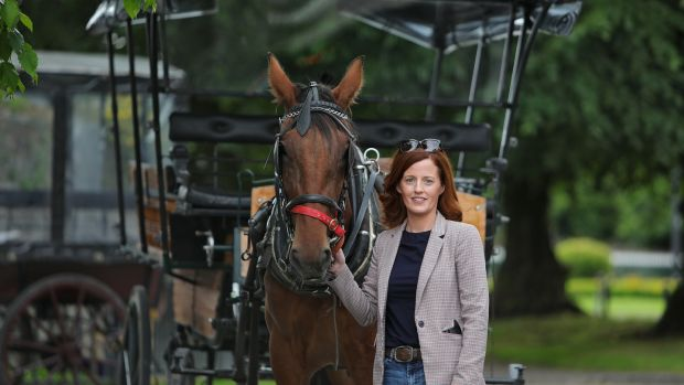 Laura Tangney of Killarney Jaunting Cars. The Tangney family have been in the tourism business for more than 220 years and Laura is the fifth generation of family to operate in the business. Photograph: Valerie O'Sullivan0
