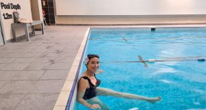Mary McCarthy at The Dartry Health Club: 'I love the pool because I can zone out - after five minutes I go into a kind of trance that's really calming'