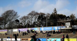 Plans were being made to accommodate up to 800 people in four pods at Chadwicks Wexford Park before the Government decided to delay phase four of the exit. Photograph: Ryan Byrne/Inpho