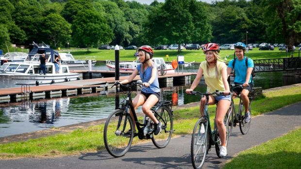 Bring the bikes to Lough Key explore the 350 hectare estate made up of parkland and forest