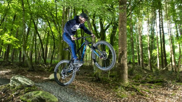 The Ballyhoura Trail Centre boasts the largest mountain bike trail network of its kind in Ireland. Photograph: Gerard McCarthy