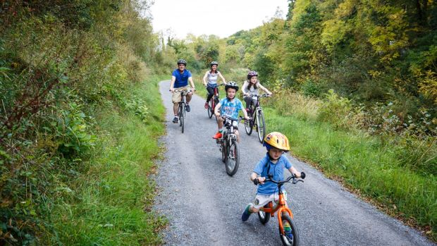 Opt for the quieter roads and gentler biking of Leitrim's blueway with a spin around the Drumleague Lock Looped Cycle Trail