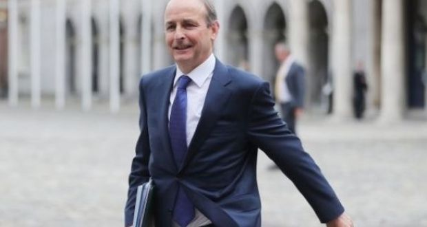Taoiseach Micheál Martin has plenty of enemies                   behind him. But he has far greater problems facing                   him. Photograph: Niall Carson/PA Wire