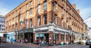 The Central Hotel on  Exchequer Street in Dublin.