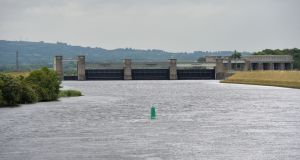 The Shannon pipeline will abstract water from the lower River Shannon at the Parteen Basin in Co Tipperary, with water treatment at the nearby village of Birdhill.  Photograph: Alan Betson / The Irish Times