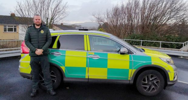 'I have had many people ask me if their loved is going to die, whether they will ever see them again?' Phillip Cahill, who works as a paramedic in Wales