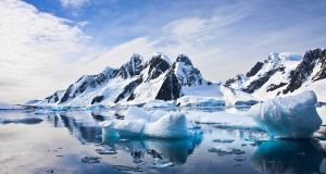 Vast quantities of methane are thought to be stored under the sea floor around Antarctica. Photograph: iStock