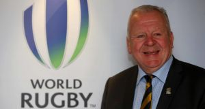 Pacific Rugby campaigners have called for a review into Bill Beaumont's re-election as World Rugby chairman in May. File photograph: PA