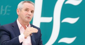 HSE chief executive Paul Reid there would be a greater emphasis on telemedicine and remote consultations in the future. Photograph: Leon Farrell/Photocall Ireland