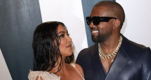"Kim Kardashian and Kanye West: He is a ""brilliant but complicated person"". Photograph: Toni Anne Barson/WireImage"