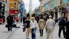 Shoppers in Dublin's Henry Street on Wednesday afternoon. Photograph: Collins