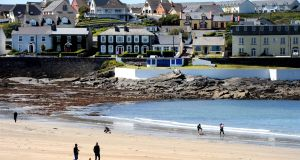The sea front at the popular tourist town of Kilkee, Co Clare. Photograph: Alan Betson