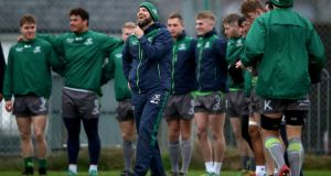 Dave Howarth is loving life at Connacht and taking the positives from rugby's three month shutdown. File phtoograph: Inpho