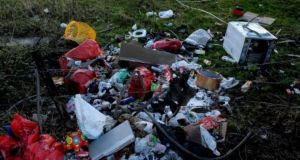 There was increased illegal dumping and burning of waste during the Covid-19 lockdown. File photograph: The Irish Times