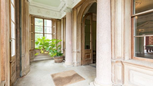 Browne's Hill House: a building of considerable historical value.