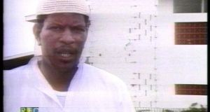 Yasin Abu Bakr, the leader of Jamaat al-Muslimeen, a radical group in the twin island state of Trinidad and Tobago, the scene of the western world's only Islamist attempted coup d'état, on July 27th, 1990.