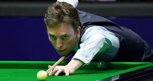 Ken Doherty was beaten 6-3 by Mark King on Sunday. File photograph: Getty Images