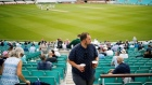 Cricket fans are first to return to live sports in England