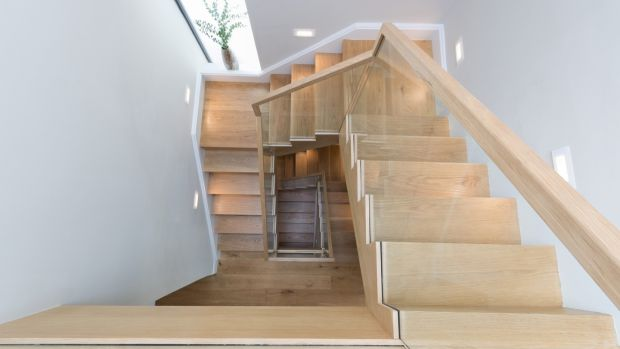 Oak timber stairs by Colin Healy,