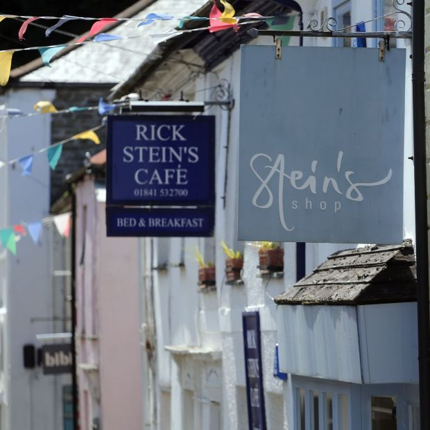 Rick Stein has a string of businesses in the Cornish town of Padstow. Photograph: Matt Cardy/Getty
