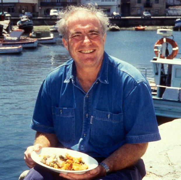 The chef in his BBC series Rick Stein's Seafood Odyssey, from 1999