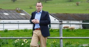 Justin McCarthy, editor and chief executive of the Irish Farmers Journal. Photograph: Alan Betson