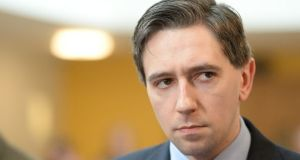 Minister for Higher Education Simon Harris said 'when it comes to sexual harassment in third-level institutions there is a zero tolerance policy'. Photograph: Cyril Byrne