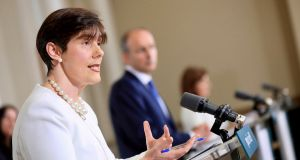 Norma Foley TD, Minister for Education. . Photograph: Julien Behal/PA Wire