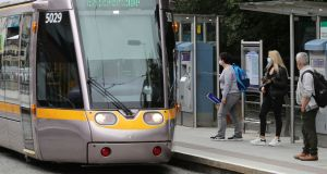 Luas to be extended from Broombridge to Charlestown. Photograph Nick Bradshaw/The Irish Times