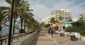 Foreign holidaymakers are few in Marbella this summer due to coronavirus travel restrictions. File photograph: Solarpix.com