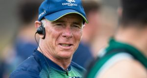Connacht head coach Andy Friend has been impressed with how his side have been preparing for the resumption of action. Photograph:  Inpho/Connacht Rugby