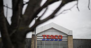 Concerns that big British businesses such as Tesco will be deterred from trading in Northern Ireland after Brexit have been raised in the House of Lords. Photograph: Tolga Akmen/AFP/Getty