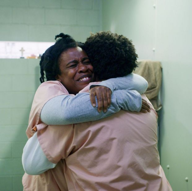 Uzo Aduba played a starring role in Orange Is the New Black as Suzanne 'crazy eyes' Warren. Photograph: Netflix