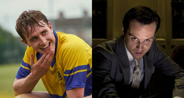 As British as Churchill: sky-hockey player Paul Mescal in Normal People and aristocratically foreheaded Andrew Scott in Sherlock