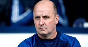 Paul Cook has resigned from his role as Wigan manager. Photo: Martin Rickett/PA Wire