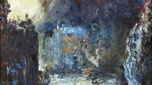 Jack Butler Yeats, The Street Performer' fetched €184,000 at deVere's