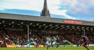 Sanitary products will now be provided in toilets at Dalymount Park. Photo: Tommy Dickson/Inpho