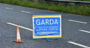 The two men, one aged in his 30s and the other in his 40s, were pronounced dead at the scene.  Photograph: Alan Betson/The Irish Times