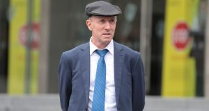 Michael Healy-Rae pictured outside court. Photograph: Collins Courts