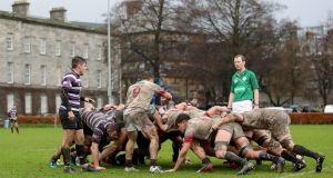 The IRFU plans to gradually phase in scrums. Photo: Bryan Keane/Inpho