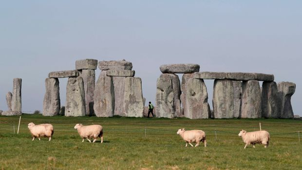 Stonehenge, pictured in 2020. Photograph: Adrian Dennis/Getty/AFP