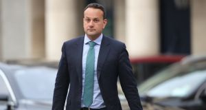 Tánaiste and Minister for Enterprise, Trade and Employment Leo Varadkar arrives at Dublin Castle for a cabinet meeting. File photograph:  Niall Carson/PA