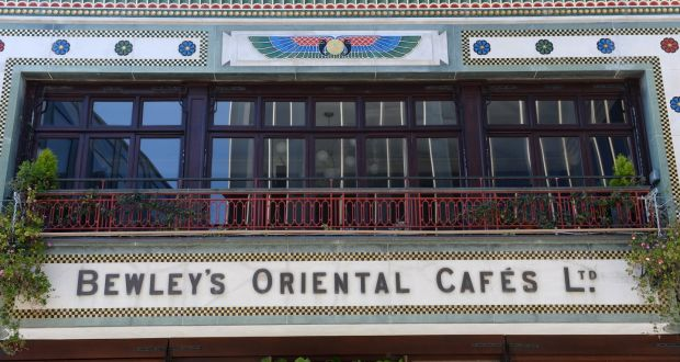 The clattery cafe: Bewley's on Grafton Street, Dublin. File photograph: Dara Mac Dónaill/The Irish Times