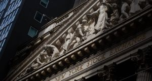 The New York Stock Exchange. Photograph: Michael Nagle/Bloomberg